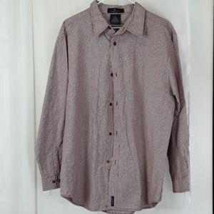 Kenneth Cole reaction sz Xl plaid dress shirt